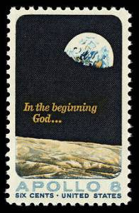 Apollo 8 Stamp