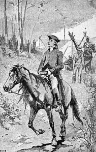 David Brainerd on horseback