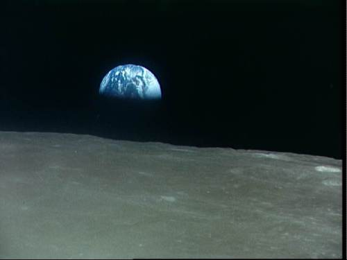 Earth From Space-Apollo 8