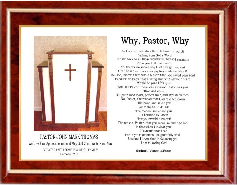 The gallery for --> Pastor Appreciation Day Poems