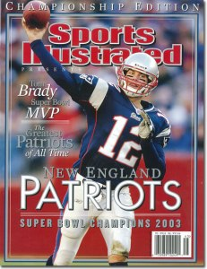 Tom Brady on Sports Illustrated Cover