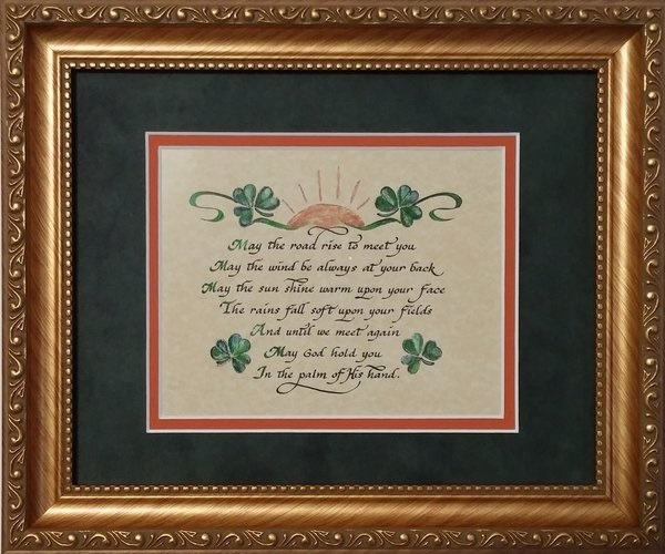 Origin And Notes On The Irish Blessing May The Road Rise To Meet You