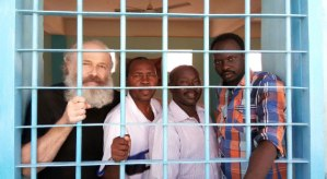 Please continue to pray for Rev. Hassan Abduraheem (second from left above) and Abdulmonem Abdumawla (far right above), who can be seen with Petr in the photo above, and were sentenced to 12 years in prison for allegedly aiding Petr's espionage activities. Pray that they will be released soon, and pray for their families.